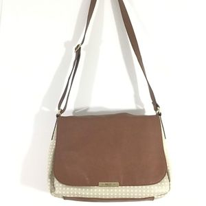Relic Polka Dot Crossbody Bag